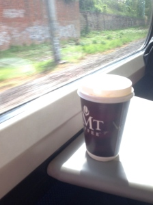 Coffee of the train